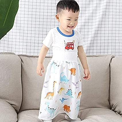 Eihan Comfy Childrens Diaper Skirt Shorts 2 in 1 Waterproof and Absorbent Shorts for Baby Toddler