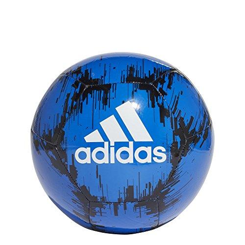ce Glider II Soccer Ball, Football Blue/Black/White, Size 5 ()