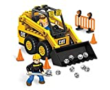Mega Bloks Caterpillar Skid-Steer Loader