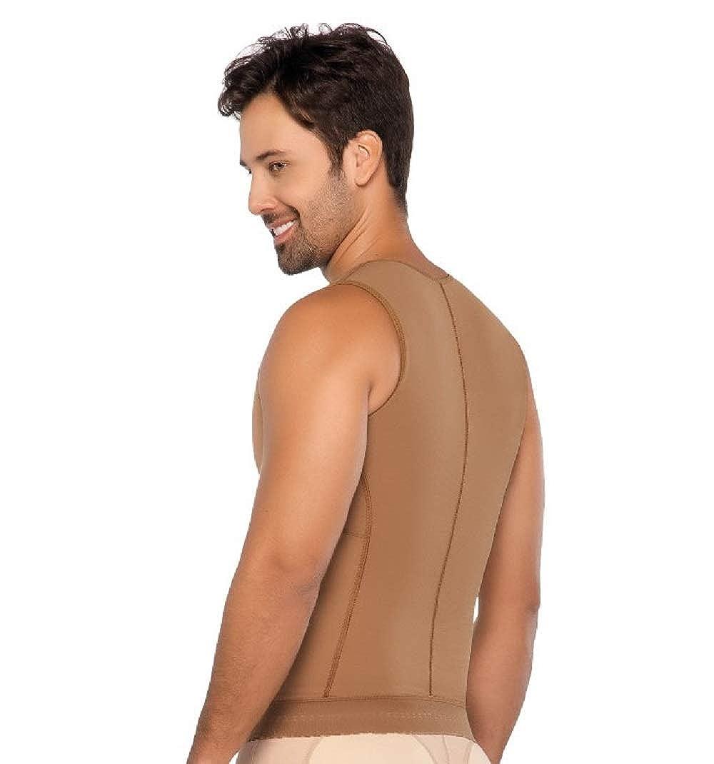 f81c4f422834c ... Post Op Shapewear Vest Men Fajas Colombianas Equilibrium Para Hombre 2  Hooks Ref 9006 ...