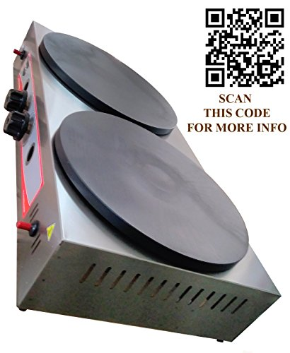 crepe griddle gas - 5