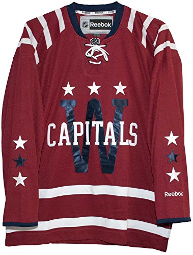 Washington Capitals 2015 Winter Classic Replica Hockey Jersey (Medium)