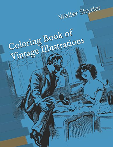 Download Coloring Book of Vintage Illustrations PDF