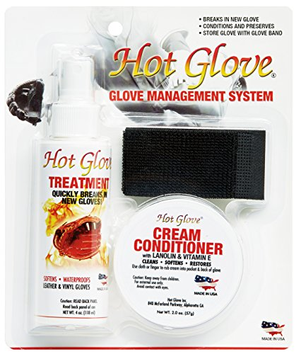 Hot Glove Break-in Kit Glove Care Management System Baseball Glove Conditioning Oil