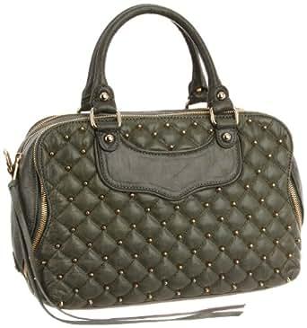 Rebecca Minkoff Jealous Light Gold Hardware 10DISPCF22 Top Handle Bag,Light Gold,One Size