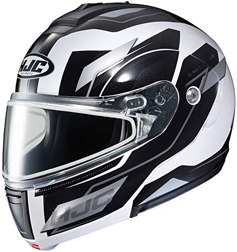 - HJC Flow CL-Max 3 Men's Snowmobile Helmet - MC-10 / Large