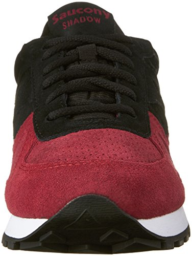 Saucony Shadow Original, Color: Blk/Red, Size: 41.5 EU (8.5 US / 7.5 UK)