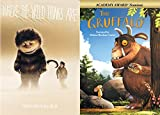 Maurice Sendak & Julia Donaldson Crazy Creatures Double Feature: Where The Wild Things Are & The Gruffalo DVD Animated Film Bundle 2-pack Bundle
