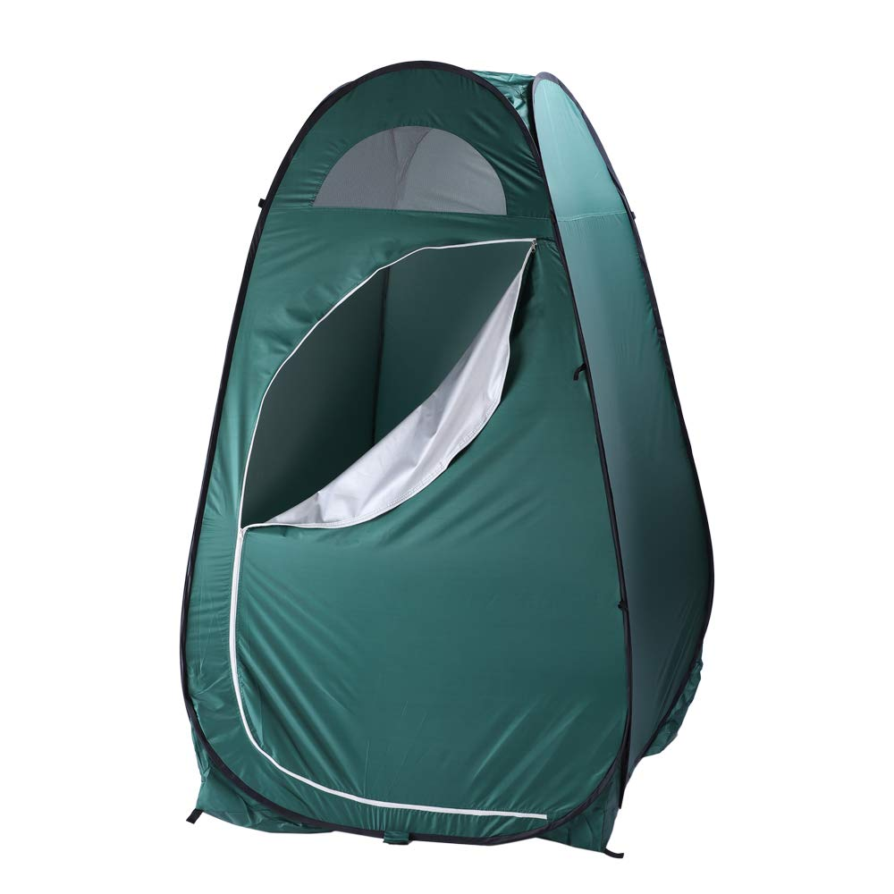 SSLine Portable Changing Tent Instant Pop Up Army Green Dressing Fitting Room Fold Privacy Shelter Tent w/Carrying Bag, Side Window for Ventilation, Ideal for Forest, Beach, Park, Poolside by SSLine