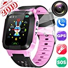 GPS Tracker Watch for Kids - Smart Wrist Watch Phone Call with SIM