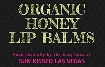 Kiss Me Honey Certified Organic Lip Balm Cruelty Free – Mint 2 Strawberry 2 Coconut 2 – 6 Pack