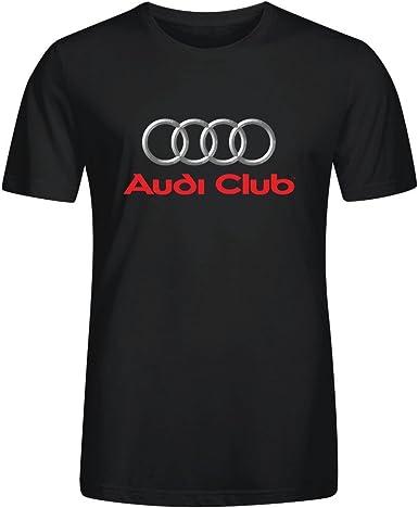 AudiFans Camisetas Personalizadas Running New Tee SS - Camiseta de Audi Club España de Casual para Hombre: Amazon.es: Ropa y accesorios