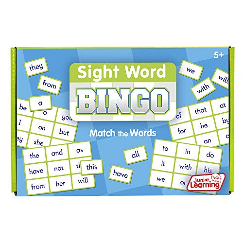 - Junior Learning Sight Word Bingo Educational Action Games