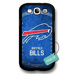 NFL Team Logo For SamSung Note 2 Case Cover - Custom Personalized Buffalo Bills Hard Plastic For SamSung Note 2 Case Cover - Black01