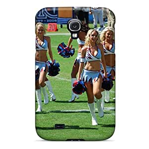 Top Quality Case Cover For Galaxy S4 Case With Nice The Titans Nfl Cheerleaders Team Appearance