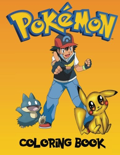 Pokemon Coloring book: A great coloring book on the pokemon characters. Great starter book for young children aged 3+. An A4 80 page book for any avid fan of pokemon