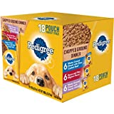 Pedigree Chopped Ground Dinner 18 Pouch variety Pack, Mignon (1) For Sale