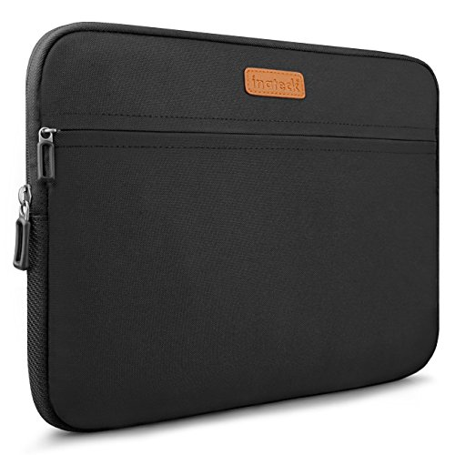 "Inateck 13-13.3"" MacBook Air/Pro Retina Sleeve Carrying Case Cover Protective Bag, Water Repellent - Black (LC1300B)"