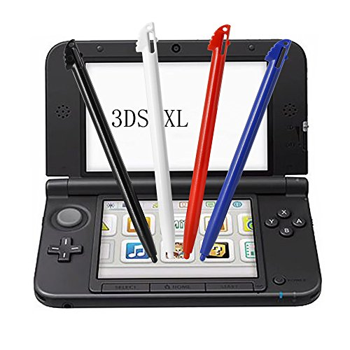 Stylus Pens for Nintendo 3DS XL- YTTL 4 Pcs Multi-Color Plastic Touch Screen Pen Set for Nintendo 3DS XL and Nintendo 3DS LL (nor fit for New 3DSXL 2015)