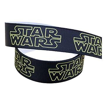 2 M X 22 Mm New Star Wars Schwarz U0026 Gelb Ripsband Für Geburtstag Kuchen  Geschenkpapier Karten