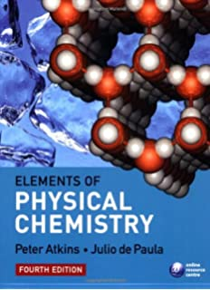 Elements of physical chemistry peter atkins julio de paula elements of physical chemistry fandeluxe Choice Image