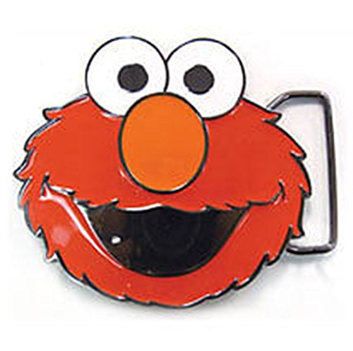 (Cookie Monster Red Sesame Street Character Belt Buckle Costume Collectible Metal)