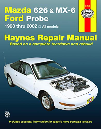 Mazda 626 Probe - Mazda 626 MX-6 & Ford Probe 1993-2002 Repair Manual (Haynes Repair Manual)