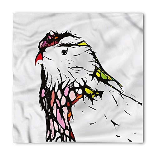 (Animal Bandana, Caricature Pet Zoo Chicken, Unisex Head and Neck Tie,23.623.6inch)