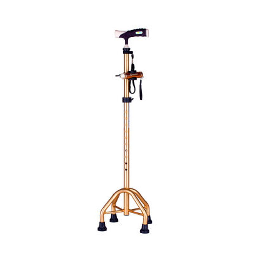 WANGXIAOLINguaizhang WANGXIAOLIN Older Walking Crutches - Gold
