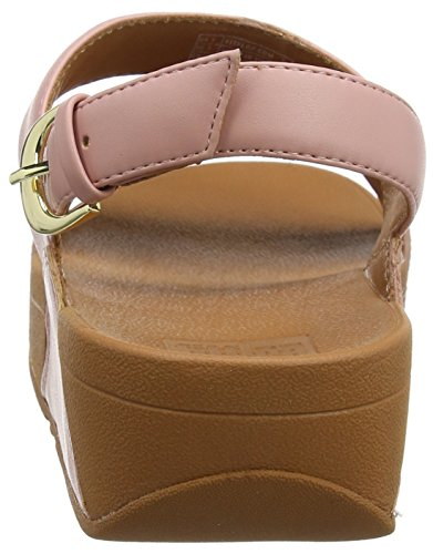 Dusky Sandalias Ritzy para 535 Punta Rosa Fitflop Strap Mujer Abierta Sandals Back con Pink wHdnI8qPa