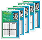 MiniPLOT Graph Paper Pads: 5 Pads of 3x3 inch