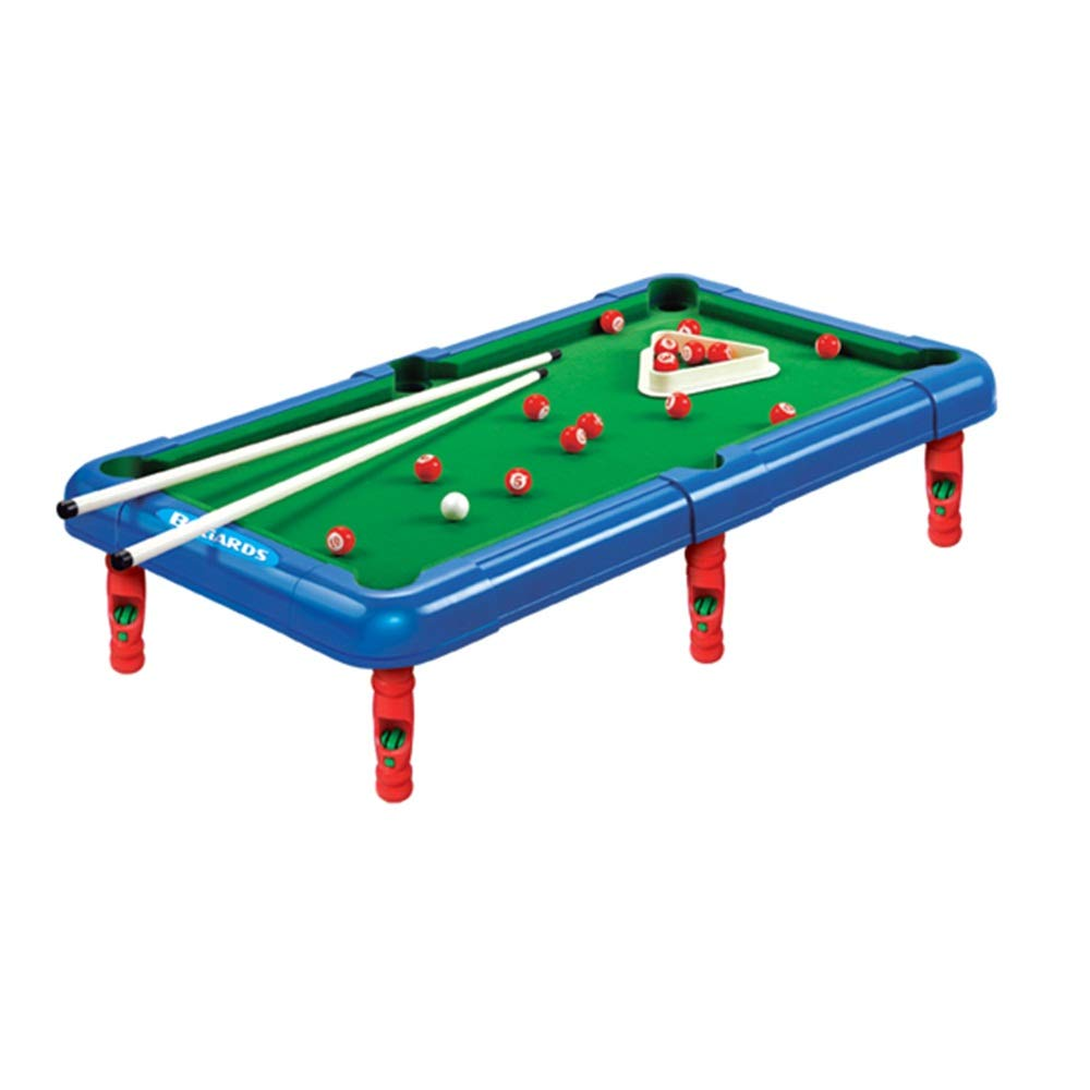 Billiards Game Tabletop Pool Petite Billiards with Smaller Mini Pool Table for Adult and Chindren Mini Tabletop Pool (Color : Green, Size : 43x24x12cm) by Forgiven