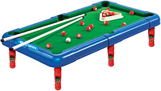 CaoDquan Mesa De Billar Juego De Billar Pool Mini Mesa Son Perfectos For Los Adultos De Todas Las Edades Mesa de Billar (Color : Green, Size : 43x24x12cm): Amazon.es: Hogar