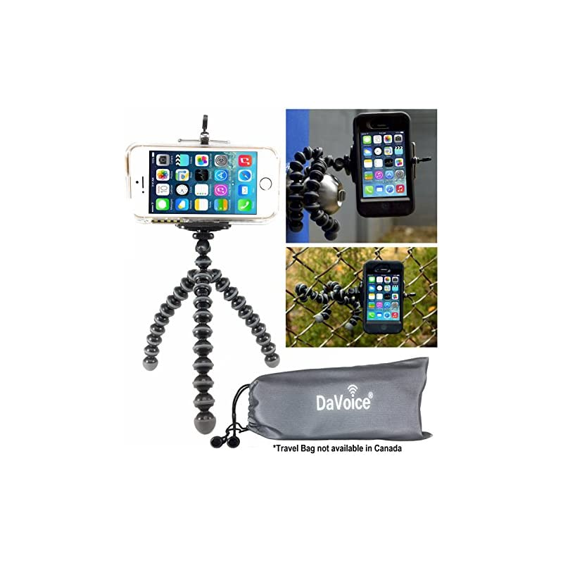 DaVoice Flexible Tripod Compatible with