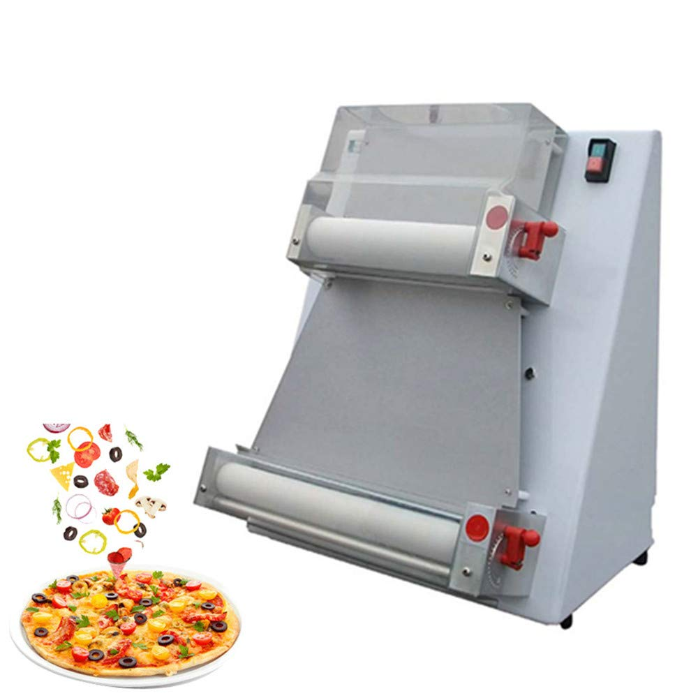 370w Automatic Pizza Dough Roller Sheeter Machine,Pizza Making Machine,3-7 Days Delivery