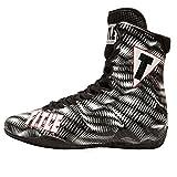 Title Predator Boxing Shoes, White/Black, 10.5
