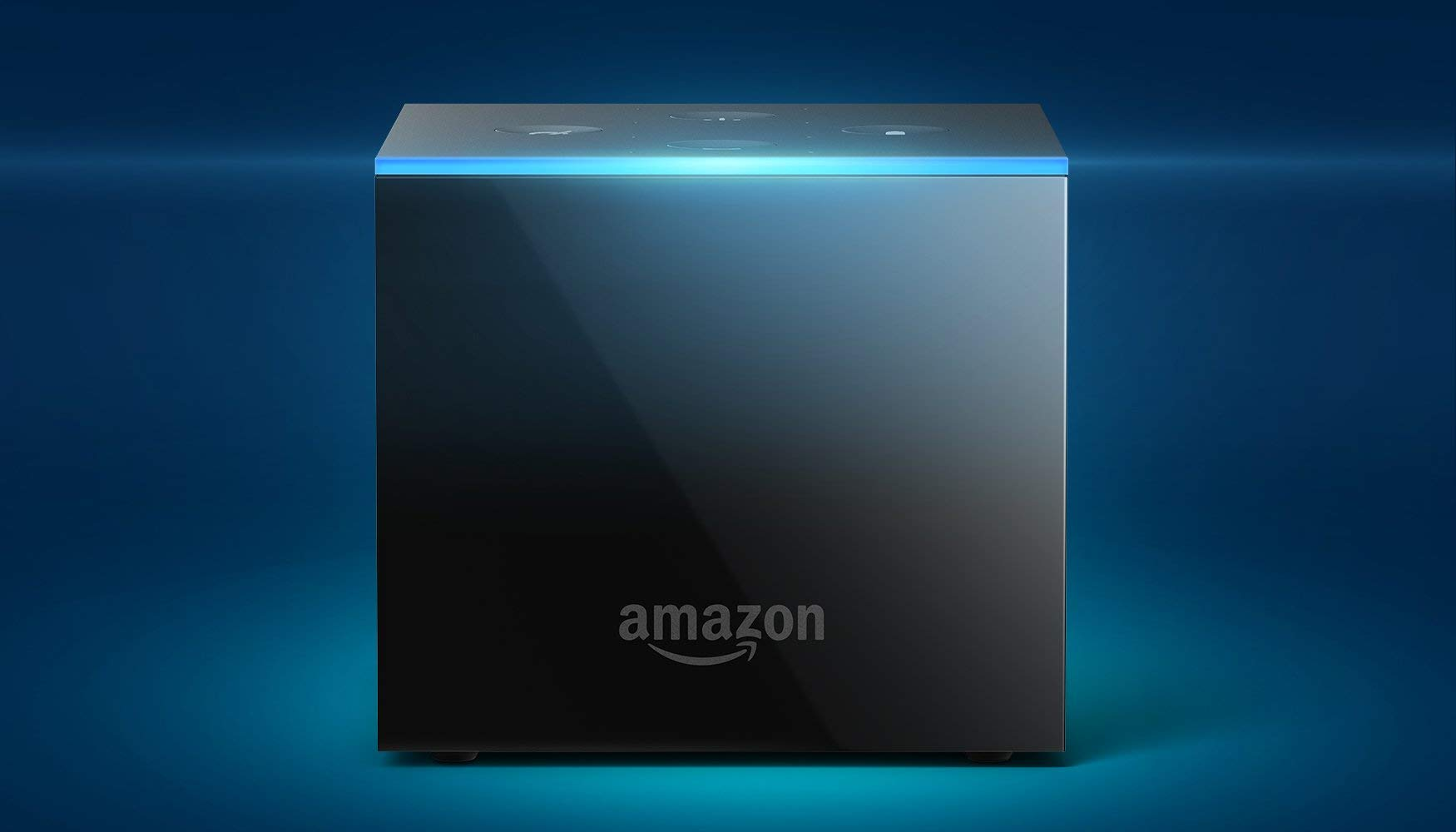 Fire TV Cube (1st Gen), hands-free with Alexa and 4K Ultra HD and 2nd Gen Alexa Voice Remote - Previous Generation by Amazon