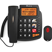 Borne SOS Emergency Big Button Phone with Emergency Call Pendant