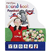 Children's Marzipan Shaped Hardback Sound Book Football Crazy