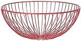 Now Designs Hemisphere Fruit Basket, Red