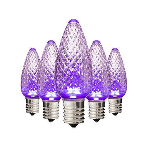 Purple C9 Led Lights