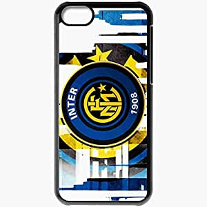 Personalized iPhone 5C Cell phone Case/Cover Skin Inter milan Black
