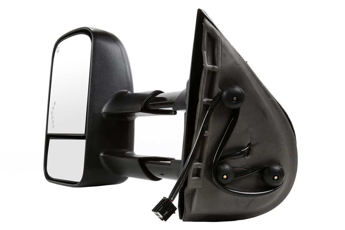Prime Choice Auto Parts KAPGM1320444PR Front Pair of Power Heated Side Mirrors w//Signal