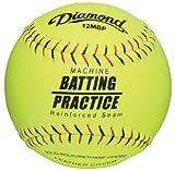 Diamond 12MBP PITCHING Machine Practice Softballs Dozen