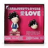 Gwen Stefani Harajuku Lovers Love Women Gift Set (Eau De Toilette Spray, Solid Perfume)