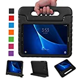 NEWSTYLE Samsung Galaxy Tab A 10.1 Kids Case - Shockproof Light Weight Protection Handle Stand Case for Samsung Galaxy Tab A 10.1 Inch (SM-T580 / T585) Tablet 2016 Release (Black) Not Fit Other Models