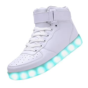 sale original ebay for sale 6 Colors Light Up High Top Sports Sneakers shoes Women Men High Top USB Charging LED Shoes Flashing Sneakers shoe cheap sale big sale bHEOyUsW