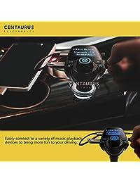 Bluetooth Reproductor de MP3 para automóvil Transmisor de FM, Adaptador de pantalla de radio inalámbrico Portátil Universal Multi Mini Eléctrico Puerto de cargador USB dual para todos los teléfonos celulares inteligentes Apple iPhone iPad Samsun
