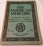 img - for The American Mercury-April 1924; Volume 1, Number 4 book / textbook / text book