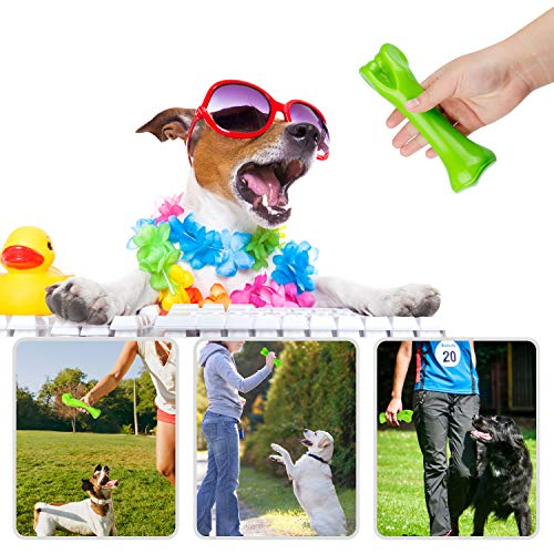 Auoinge Dog Chew toys for aggressive chewers, Indestructible Durable Puppy Training Treats Tough Non-toxic Nylon Dog Bones for Medium Large Dogs